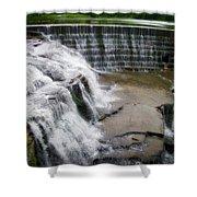 Waterfalls Cornell University Ithaca New York 06 Shower Curtain