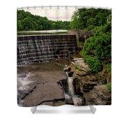 Waterfalls Cornell University Ithaca New York 08 Vertical Shower Curtain