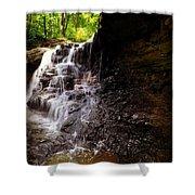 waterfallScoop Shower Curtain