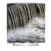 Waterflow Waterfall On A Small Creek Shower Curtain