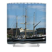 Waterford Harbour July 2011 Shower Curtain