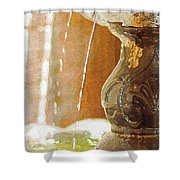 Waterfountain Shower Curtain