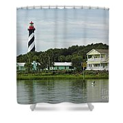 Historic Waterfront Beauty Shower Curtain