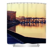 Waterfront Deep Shower Curtain