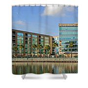 Waterfront Hotel Shower Curtain