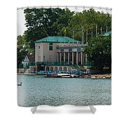 Waterfront Shower Curtain