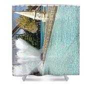 Waterfun  Shower Curtain