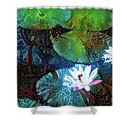 Waterlilies 19 Shower Curtain
