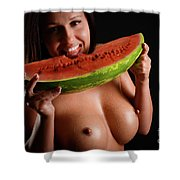 Watermellon Shower Curtain