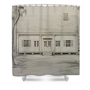 Waterproof Plantation Shower Curtain