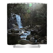 Waters Falling Shower Curtain