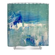 Water's Flow Shower Curtain by KR Moehr