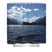Waterton Lake Shower Curtain