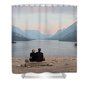 Waterton Lakes Shower Curtain