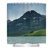 Waterton Lakes Shower Curtain