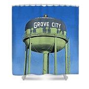 Watertower Grove City Shower Curtain