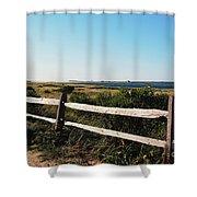 Waterview Shower Curtain