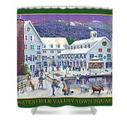 Waterville Valley At Wintertime Shower Curtain