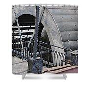 Waterwheel Detail Shower Curtain