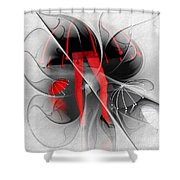 Waterworld Shower Curtain by Issabild -