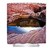 Watery Portal Shower Curtain