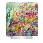 Watery World 2 Shower Curtain