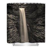 Watkins Glen Cavern Cascade #5 Shower Curtain