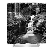 Watkins Glen Rainbow Falls #2 Shower Curtain