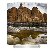 Watson Lake Arizona 11 Shower Curtain