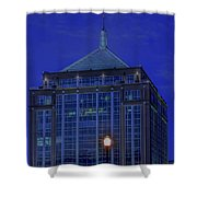 Wausau's Dudley Tower At Sundown Shower Curtain