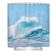 Wave #1 Shower Curtain