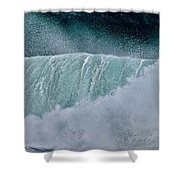 Eternal Wave Shower Curtain