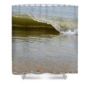 Wave At Sandbridge Virginia Shower Curtain