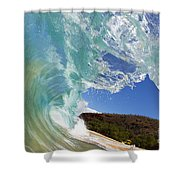 Wave Breaking Shower Curtain