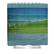 Wave Curl Shower Curtain