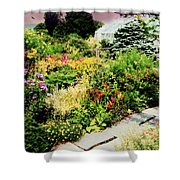 Wave Hill Conservatory Shower Curtain