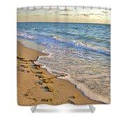 Wave Meditation Shower Curtain