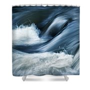 Wave Of The Veil On The River Shower Curtain