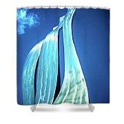 Wave Of Weiden Shower Curtain