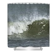 Wave Study Shower Curtain