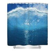 Wave Tube Shower Curtain
