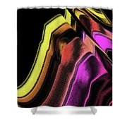 Wavelength Shower Curtain