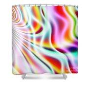 Wavelengths Shower Curtain