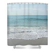 Waves And Assateague Beach Shower Curtain