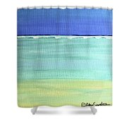 Waves Breaking At Sea Shower Curtain