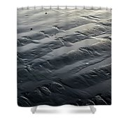 Waves In The Sand Shower Curtain