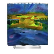 Waves Of Change Shower Curtain
