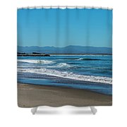 Waves Of Hope Shower Curtain