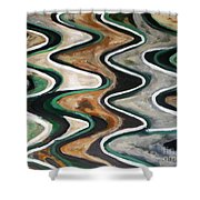 Waves Of  Life Shower Curtain