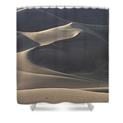 Waves Of Shadow Shower Curtain